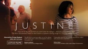 Justine, by Pratap Rughani