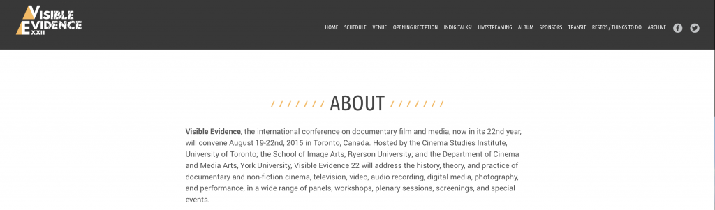 Vis Evidence 2015 header