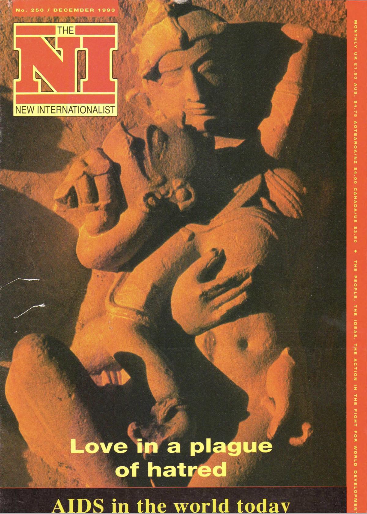 New Internationalist edited volume 250 (1993)