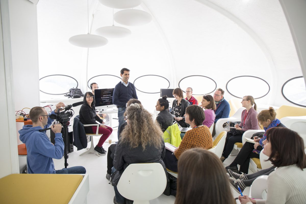 Learning & Teaching Day, UAL 2017, presentation on Documentary Ethics at Futuro House
