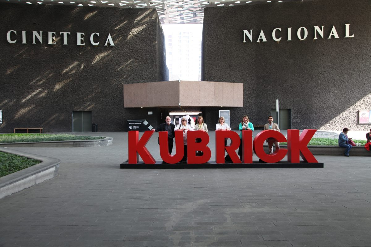 Kubrick at Symposium @ National Cinema Museum, Mexico City, Mexico