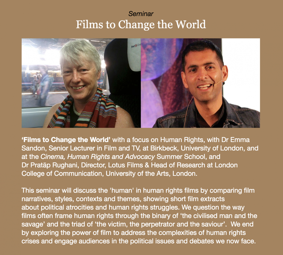 Fastnet Film Festival 2018 Seminar