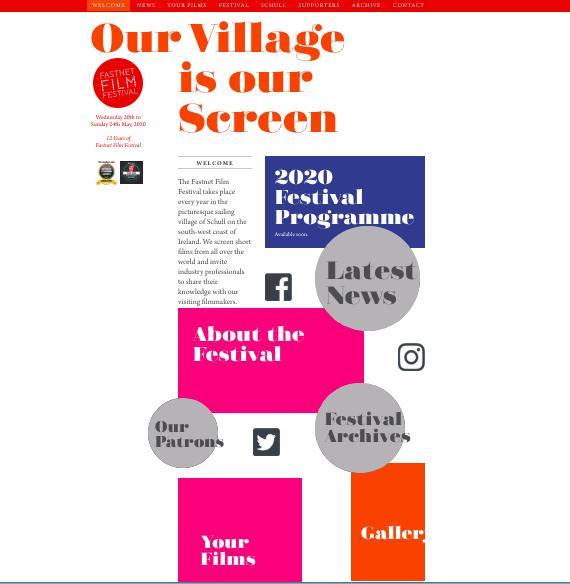 Judge for Fastnet Film Festival 2020