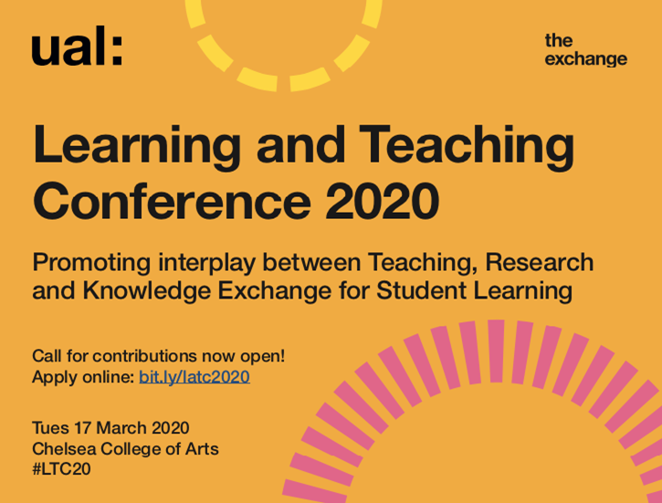 Learning and Teaching conference poster